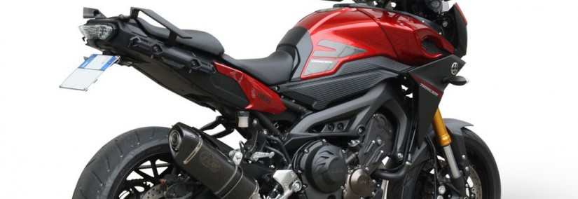 EXAN - YAMAHA TRACER 900-X-BLACK Ovale (Sist. Completo) (Me-Re)