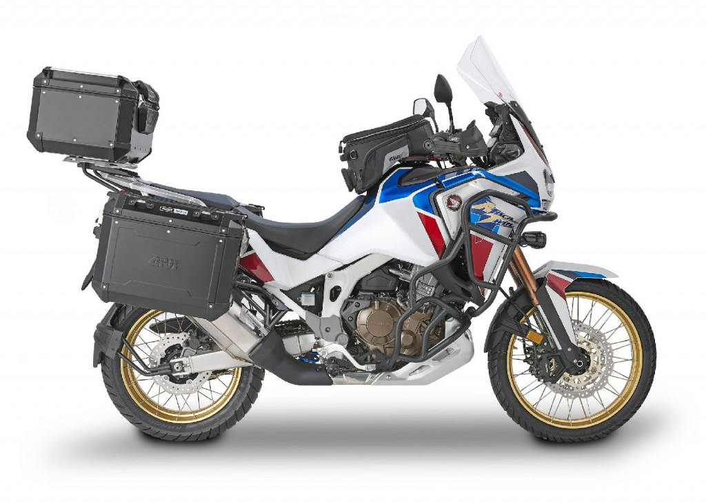 Africa Twin Adv Sports con Trekker Outback