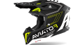 AIROH AVIATOR 3 Primal Yellow Matt alta